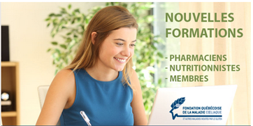 Nouvelles formations - Pharmaciens, nutritionnistes