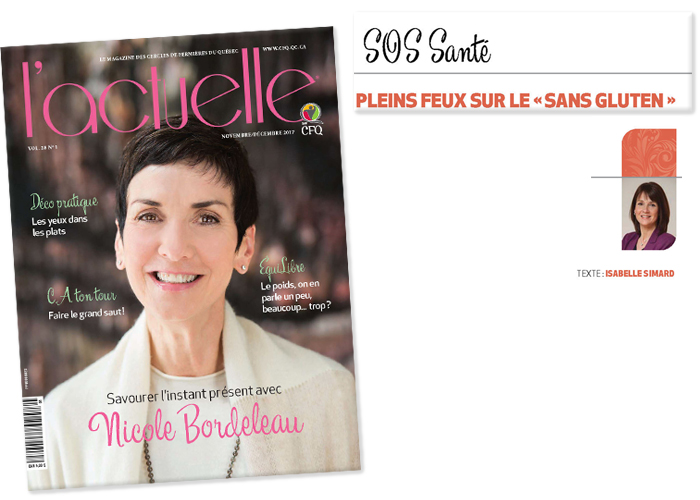 Article Magazine L'Actuelle